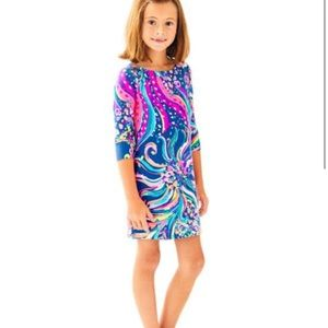 LILY PULITZER Girls Little Mini Sophie Dress Large